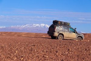 Overlanding in the Atlas Mountains with a Toyota LandCruise 120 - Lexus GX470