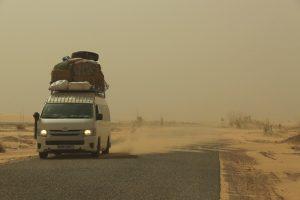 Overlanding in Mauritania - dangerous roads