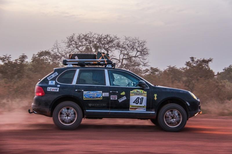 Porsche in Africa