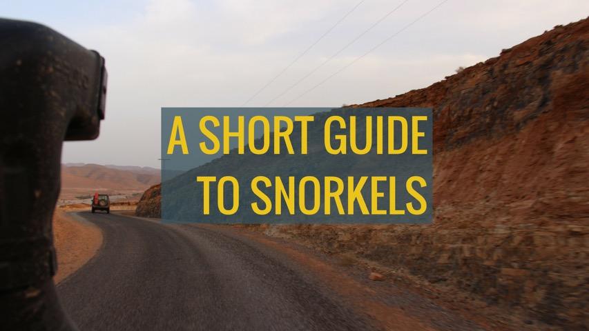 How raised air intakes or snorkels work
