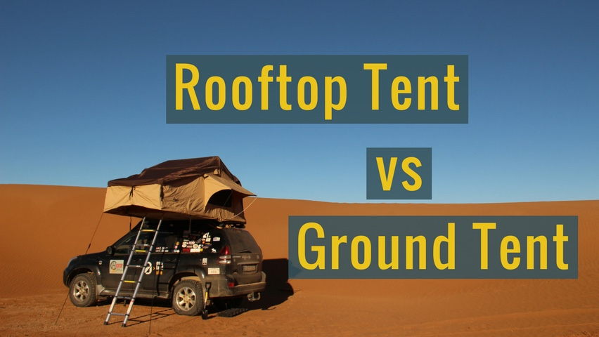 advantages and disadvantages of ground and rooftop tents