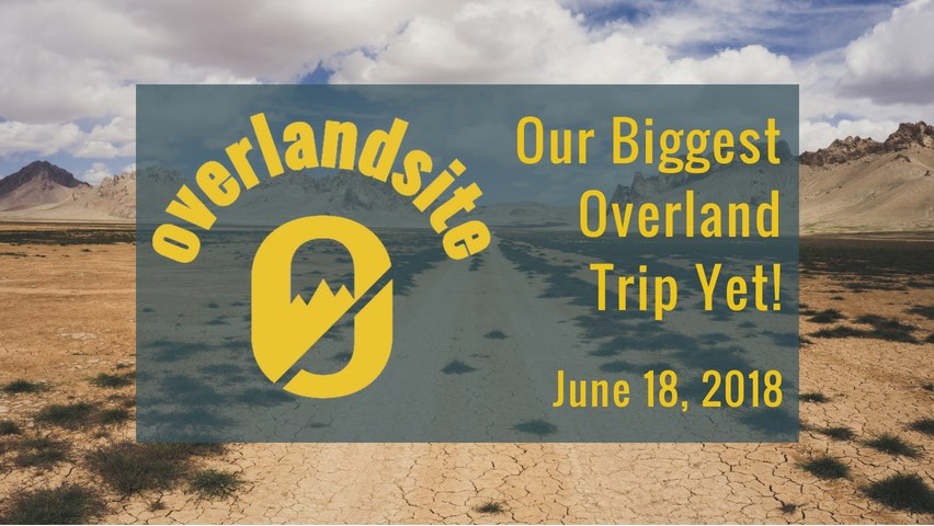 Overlandsite's plans for 2018: Europe to Singapore overland trip
