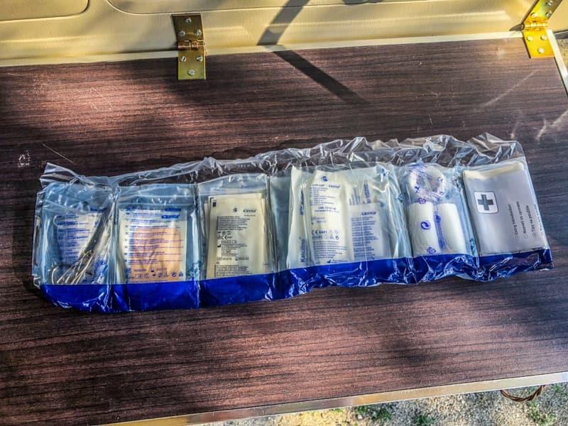 basic first aid kit for overlanding