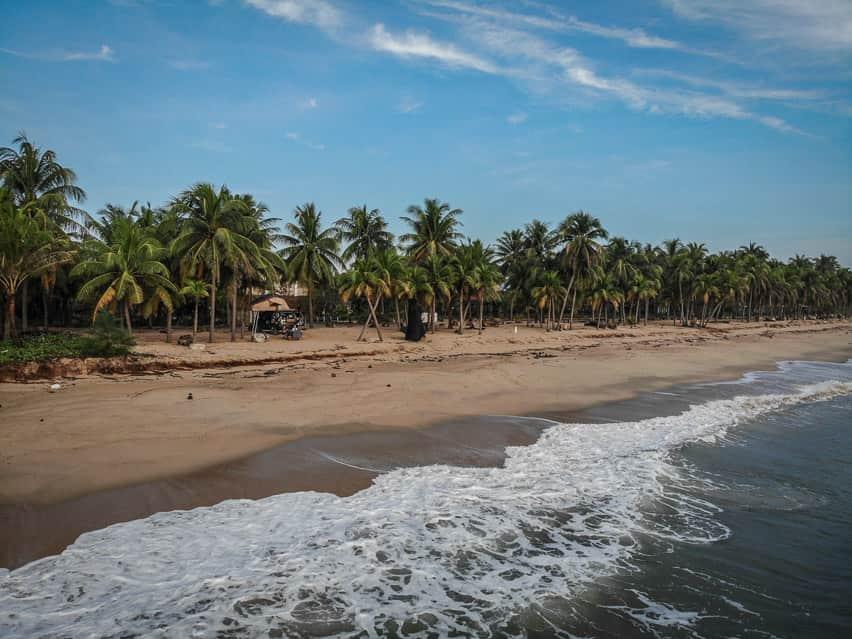 thailand east coast campsite