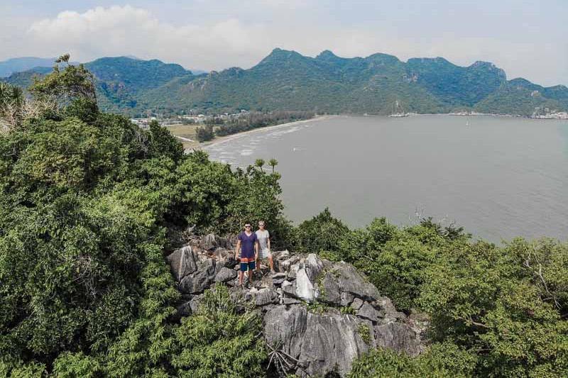overlandsite hiking in thailand