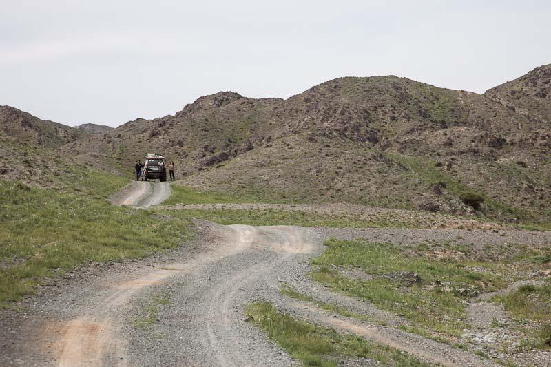 overlandsite in the gobi desert