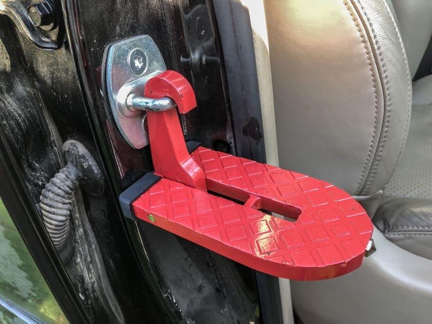car door latch step review