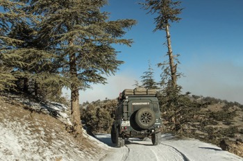 snow - all terrain tires are best
