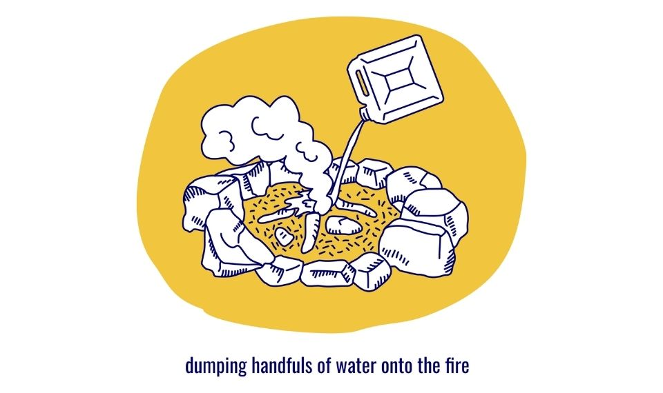 How to put out a campfire 3