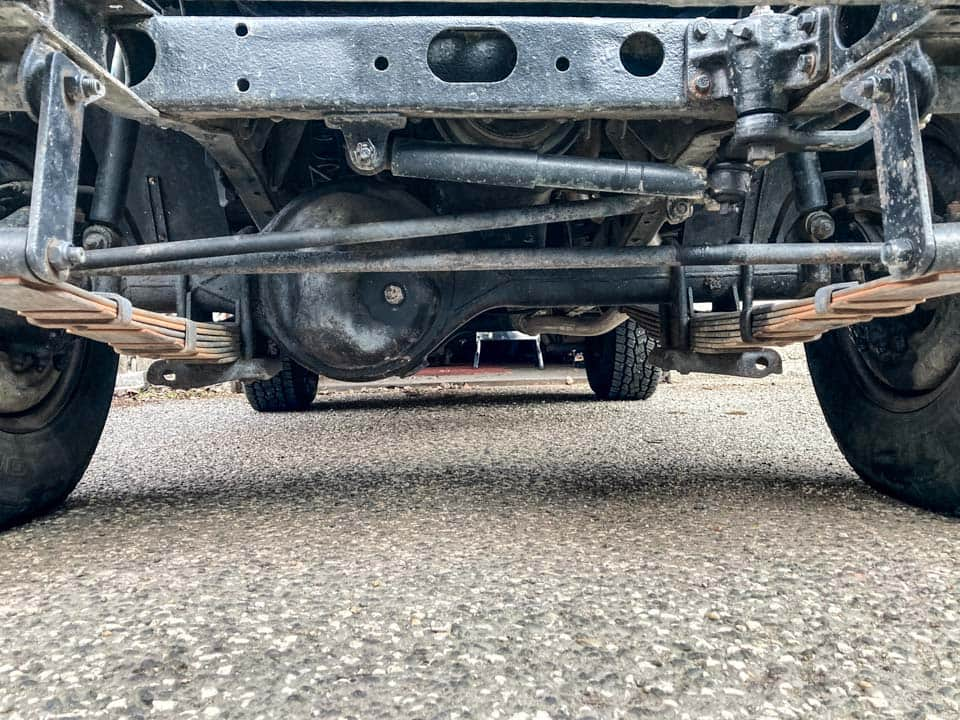IFS vs Solid front axle