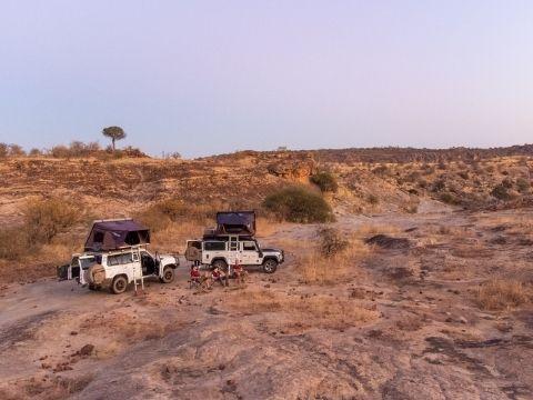 overlanding in Botswana