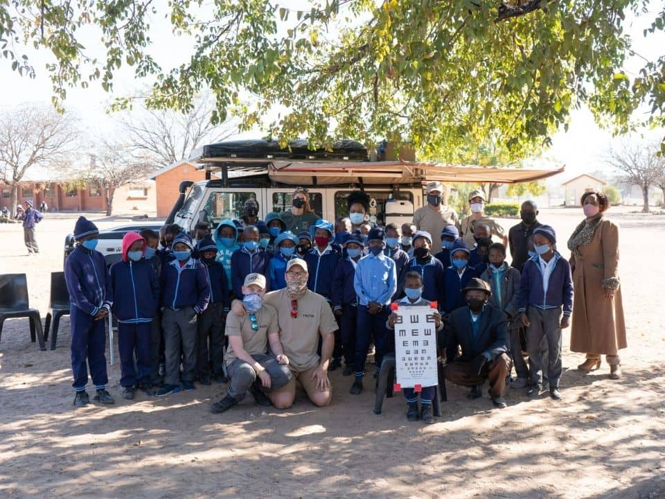 humanitarian team - overlanding