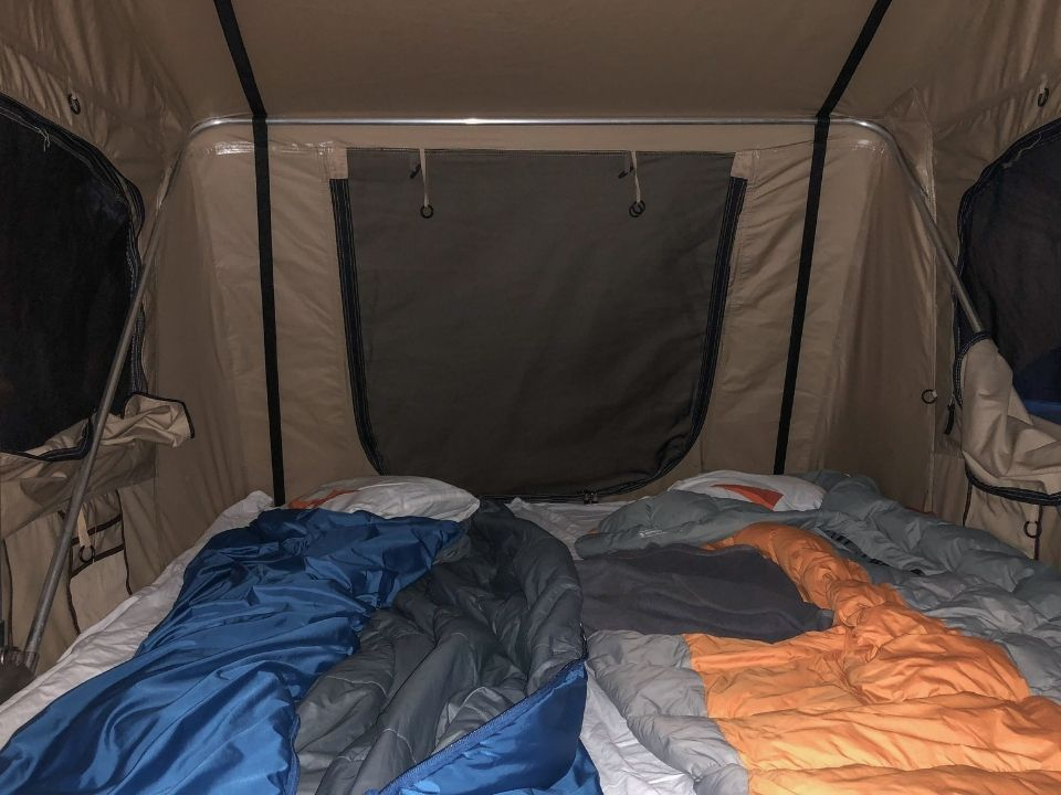 how to insulate a tent inside